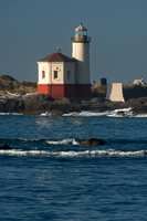 Coquil River Lighthouse and Bay