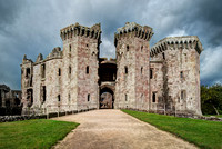 Raglan Castle Entrance