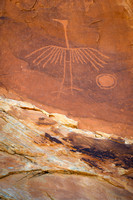 Big Crane Petroglyph Closeup
