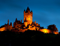 Cochem Castle at Night
