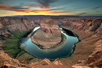 Horseshoe Bend Sunset 7:47PM
