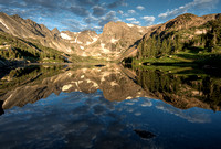 Lake Isabelle Sunlit Reflections
