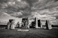 Stonehenge Stormy Clouds