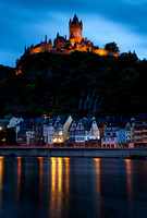 Cochem Castle and Town Reflections
