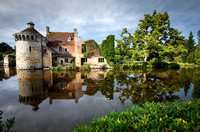 Scotney Castle Reflections and Clouds