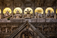 Toledo Cathedral Illuminated Jesus and the Apostles